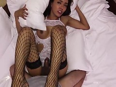 Milk Hung Showgirl Gooey Bareback Cum