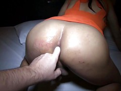 Cherry's a new freelancer to Pattaya and in need of good anal training. And proper training she receives. Cherry gets taken short time and has a hard cock open her delicate Femboy hole. While sucking cock Cherry's tender asshole is fingered deeply. A heal