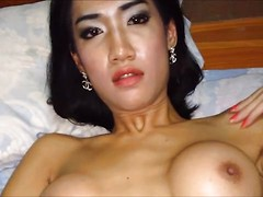 Enjoy this seedy shorttime video shot with a camera phone. It starts in the middle of the action with Om getting fucked good while jerking off. Then it's Om's turn and sucks on the cock ripe from her ass then rubs both cocks together. Om licks down to the