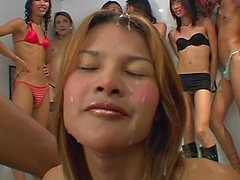 Ladyboy bukkake sites