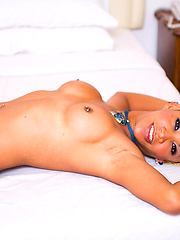 Ladyboy Kai shows her beautifully stretched out asshole - Asian ladyboys porn at Thai LB Sex