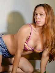 Sexy Curvy Francine Gurchic! - Asian ladyboys porn at Thai LB Sex