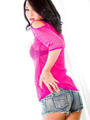 Presenting GroobyNewbie Meika Kuroki - Asian ladyboys porn at Thai LB Sex