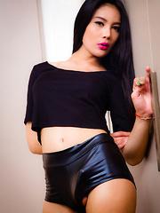 Stunning Anna Cums! - Asian ladyboys porn at Thai LB Sex