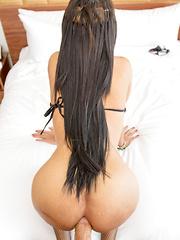 String Bikini Sex Doll Bareback - Asian ladyboys porn at Thai LB Sex
