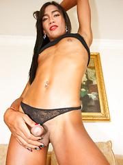 Bareback Black Body Stocking - Asian ladyboys porn at Thai LB Sex