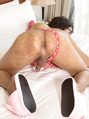 Toy and Cock Stuffed Backdoor