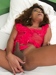 Bareback fucking and deep rimming for Pattaya Ladyboy - Asian ladyboys porn at Thai LB Sex