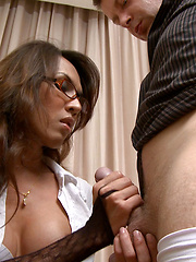 Ladyboy sex in the office - Asian ladyboys porn at Thai LB Sex