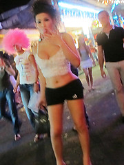 Bangkok street whores with cocks between their sexy legs - Asian ladyboys porn at Thai LB Sex