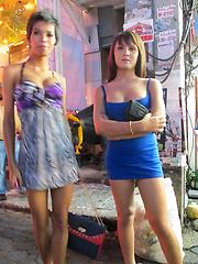 Sexy asian trannies from Pattaya streets - Asian ladyboys porn at Thai LB Sex