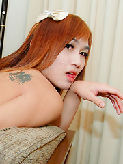 Hung ladyboy takes some serious hard cock - Asian ladyboys porn at Thai LB Sex