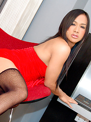 Watch lucky ladyboy take a serious banging