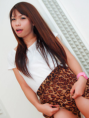 Ladyboy ass takes on huge western cock - Asian ladyboys porn at Thai LB Sex