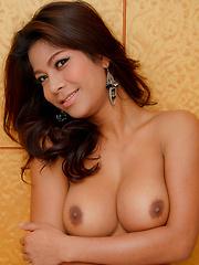 Yummy young ladyboy takes a big cock - Asian ladyboys porn at Thai LB Sex