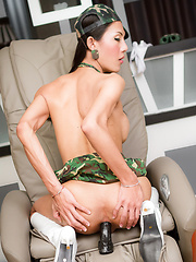 Big Black Military Cock - Asian ladyboys porn at Thai LB Sex