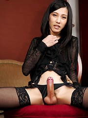 The always beautiful Chuling returns to Shemale Japan today to fulfill your every desire. - Asian ladyboys porn at Thai LB Sex