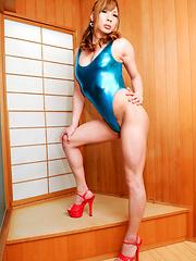 Yuu Hoshibana is Tokyo newhalf who is ready for summer!