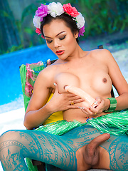 Hula Whore - Asian ladyboys porn at Thai LB Sex