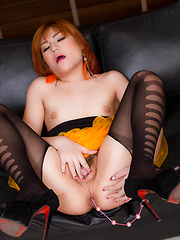 Orange Tutu Sofa Cum - Asian ladyboys porn at Thai LB Sex