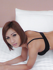 Watch young Asian ladyboy filled with cock - Asian ladyboys porn at Thai LB Sex