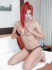 Watch young ladyboy punk take a pounding - Asian ladyboys porn at Thai LB Sex