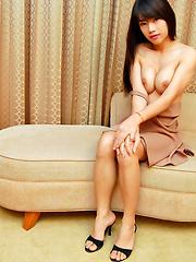 Real life ladyboy exploding with spunk - Asian ladyboys porn at Thai LB Sex