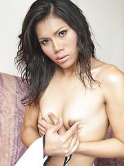 Freshly Showered - Asian ladyboys porn at Thai LB Sex
