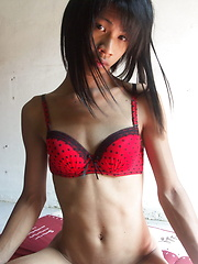Enjoy your erotic vacations with this romantic Thai ladyboy - Asian ladyboys porn at Thai LB Sex