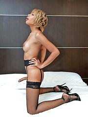 Could this be Bangkok's sexiest jerking ladyboy? - Asian ladyboys porn at Thai LB Sex