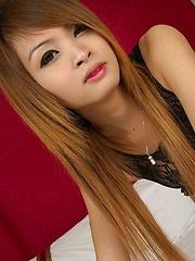 Beautiful Thai ladyboy Baa - Asian ladyboys porn at Thai LB Sex
