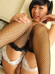 Ladyboy Ying in Shemale Shaggers - Asian ladyboys porn at Thai LB Sex