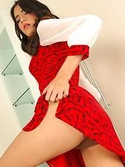 Horny Thai ladyboy Rita Sucks Cock - Asian ladyboys porn at Thai LB Sex