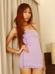 Ladyboy Mimi banged hard and fast - Asian ladyboys porn at Thai LB Sex