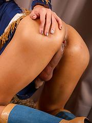 She's the Sherriff - Asian ladyboys porn at Thai LB Sex