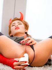 Devil Made Me Do It - Asian ladyboys porn at Thai LB Sex