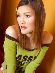 Tukta Tease - Asian ladyboys porn at Thai LB Sex