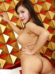 Tgirl Fang Gets An Anal Stuffing - Asian ladyboys porn at Thai LB Sex