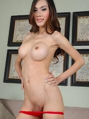 Busty Asian Transsexual Aye Bareback - Asian ladyboys porn at Thai LB Sex