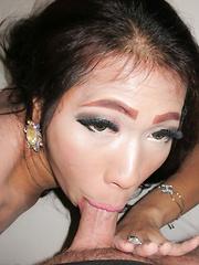Big Cock Oil Massage - Asian ladyboys porn at Thai LB Sex