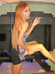 Always Satisfies You Breeding and Pissing - Asian ladyboys porn at Thai LB Sex