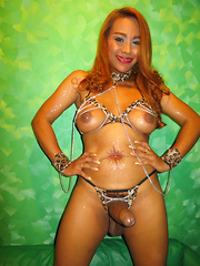 Chains Top Creampie and Piss Taste
