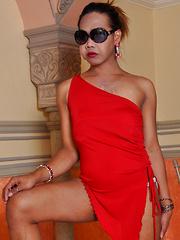 Ushergel Buenavista: Red Dress