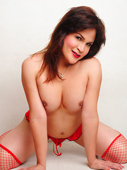 Pauline: Crimson Pleasure - Asian ladyboys porn at Thai LB Sex
