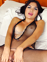 Erika Fox's Fishnet Fetish