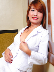 Kristine Cyrell: Executive Privilege - Asian ladyboys porn at Thai LB Sex