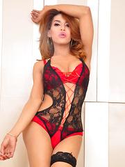 Amanda: Smoking Hot - Asian ladyboys porn at Thai LB Sex