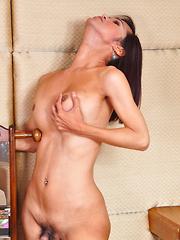 Alexia: Union Jack Bikini - Asian ladyboys porn at Thai LB Sex