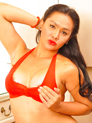 Rhed Argel Madrigal: Red Bikini