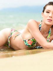 Beach Bod Rui Matsushita! - Asian ladyboys porn at Thai LB Sex